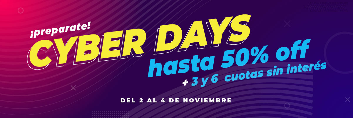 Cyberdays en Moha Hasta 50% OFF